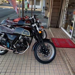 滋賀県でAJS Cadwell125見れます。