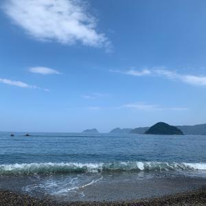 いつもの海!