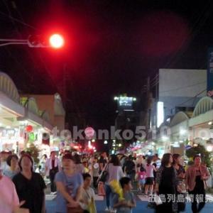 【イベント】2019福江商店街で毎年恒例の「夜市」開催