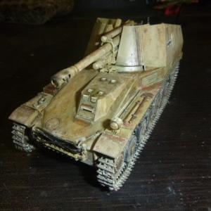 ドイツ 自走榴弾砲 ヴェスペ イタリア戦線 完成