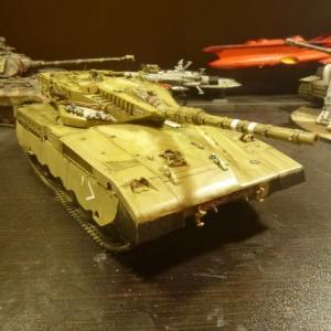 イスラエル軍 メルカバ 主力戦車  完成