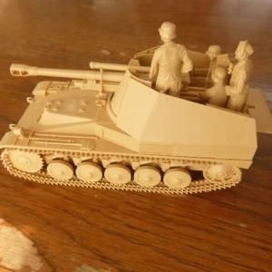 ドイツ 自走榴弾砲 ヴェスペ イタリア戦線 素組立
