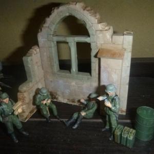 ドイツ歩兵部隊 イタリア戦線1943  完成