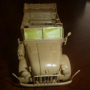 Instagram:ドイツ 大型軍用乗用車 シュタイヤー 1500A/01 アフリカ軍団休息セット 素組立