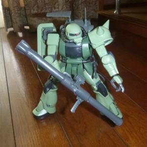 素組立:MG 1/100 MS-06F ザクマインレイヤー