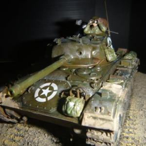 完成:M24チャーフィーアメリカ軽戦車