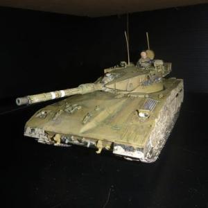 完成:主力戦車メルカバイスラエル軍