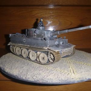 完成:ドイツ重戦車・タイガーⅠ