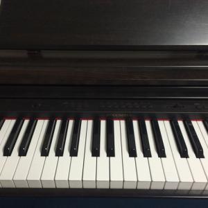 ピアノと肉