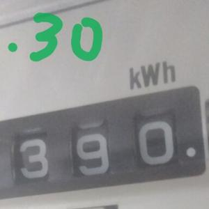 東京都内1人暮らし貧乏独身女の2020年6月の電気代。