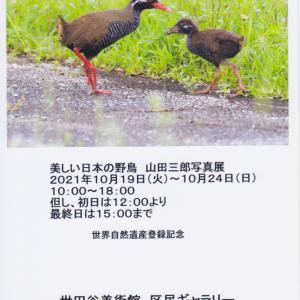 山田三郎写真展の案内