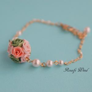 【販売中】桜色のブレスレット