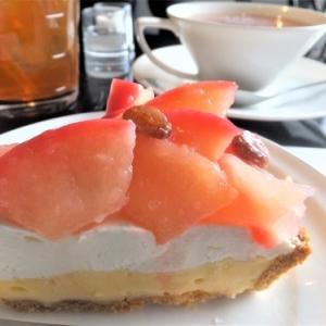 マリーローランサン【JR小樽駅前】◆駅スグの老舗喫茶店で焼きりんごタルトとオーガニック紅茶♪