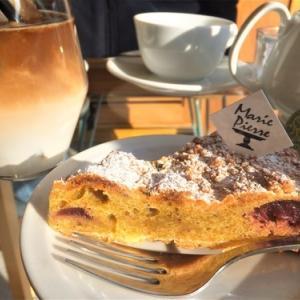MariePierre(マリピエール)【札幌山鼻】◆ピスタチオが濃厚なタルトと高レベルなカフェオレ♪