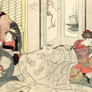 オススメ浮世絵:『絵本四季花 下』喜多川歌麿 画