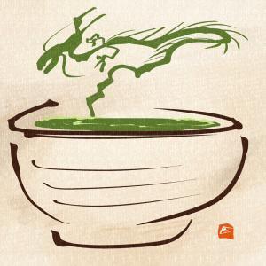今日の一枚:抹茶ドラゴン