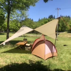 7ヵ月ぶりのキャンプ。