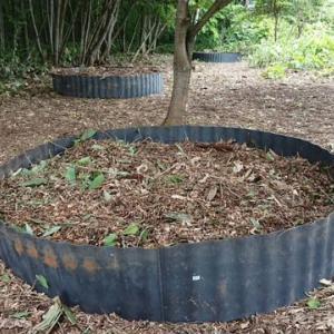 腐葉土(落葉)堆肥場を増設する