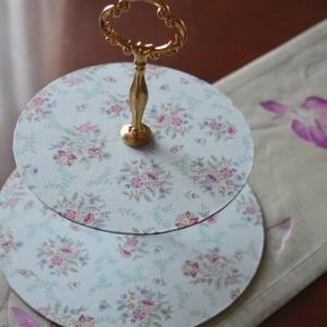 【my作品】お茶会を演出するカルトナージュ