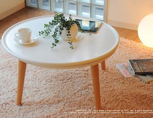 売り切れの白い炬燵テーブルSARA