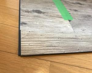 床を剥がしました