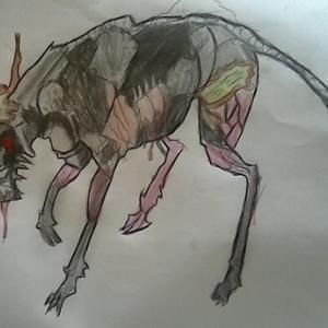 絵:死の魔獣
