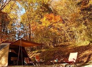カヤックとキャンプで紅葉を満喫♪ その2