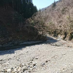 軽キャンで愛知川水系へ。~天国から地獄~