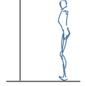 前傾で大切なのは形より動きかな?