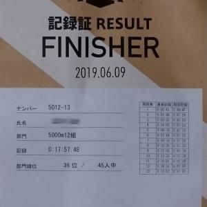 【速報】OTT2019 6/9  5000m