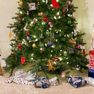 沖縄から20年間ずっと一緒のクリスマスツリー