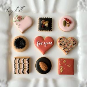 『チョコ風クッキー』のサンプル