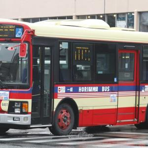 計画として 堀川バス8461