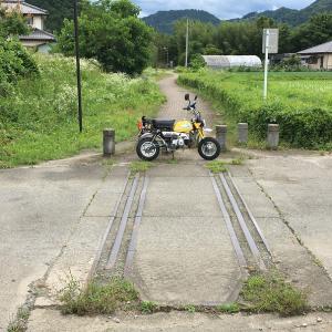 モンキー 2号機 廃線探索 上武鉄道 日丹線