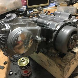 モンキー 2号機 エンジン組み立て終了