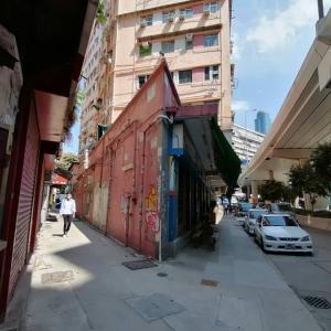 とっても鋭利な角の建物 香港・大角嘴