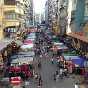 看板が減ってきている…😢 香港・旺角