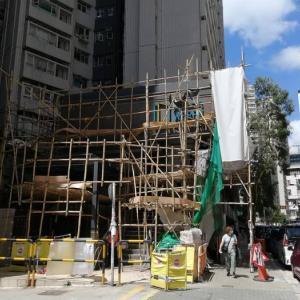 工事現場の足場 竹 vs アルミ