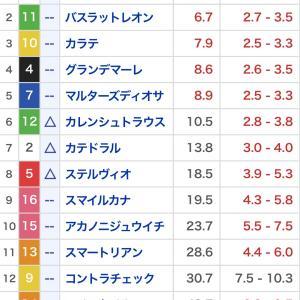 適当競馬9月2週 京王杯オータムハンデ・セントウルステークス・紫苑ステークス