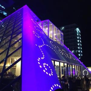 2019 パラワン旅行記 闇夜に光るルーブル美術館