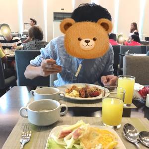 セブシティ ベイフロントホテルの朝食