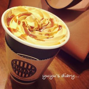 【cafe】塩キャラメルパンプキンラテ@TULLY'S COFFEE