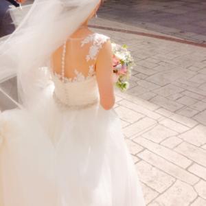 親友の結婚式へ…♡
