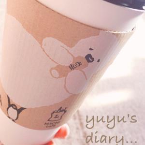 【cafe】メガサイズでちびだら飲み@MACHI cafe