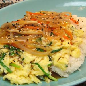 韓国式天津飯<달걀덥밥>