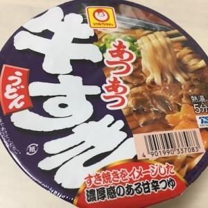 久しぶりのカップ麺…