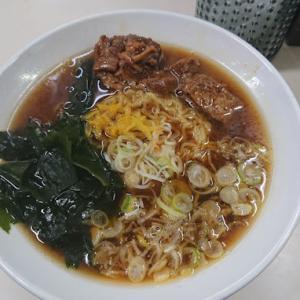 【駅グルメ】JR高崎線桶川駅「そば処中山道」の煮干し中華