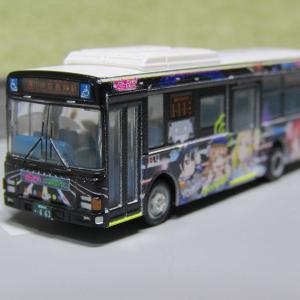 【バスコレ】伊豆箱根バス ラブライブ!サンシャイン!!ラッピングバス3号車