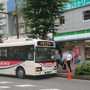 【路線バス】朝日バス 年に3度の桶川駅西口発着