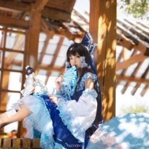 奈々子さんはTwitterを使っています 「💙💙🤍青霊夢🤍💙💙 📷:@xqwonder 天気はとてもいいです💓...